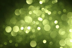 Abstract green bokeh Stock Images