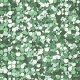 Abstract green bubbles vector Royalty Free Stock Photos