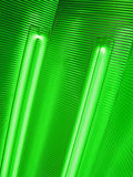 Abstract green bulb lamp, power details, Royalty Free Stock Photos