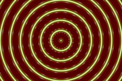 Abstract Green/Burgundy. Green circles on burgundy background Stock Photo