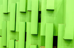 Abstract green cardboard Royalty Free Stock Photo