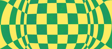 Abstract green chessboard texture. Abstract green and yellow chessboard texture Royalty Free Stock Photography