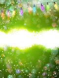 Abstract green christmas background. EPS 10 Royalty Free Stock Photos