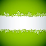 Abstract green Christmas background. Royalty Free Stock Photos