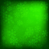Abstract green christmas background Royalty Free Stock Images