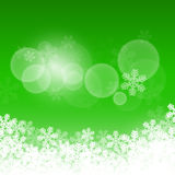 Abstract green christmas background Stock Photo