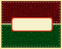 Abstract green Christmas ball cutted from paper on background. vector illustration
