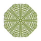 Abstract green circle pattern for your design Stock Photography