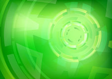 Abstract Green Circles Background Wallpaper Stock Photos