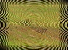 Abstract green circles Stock Photography