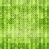 Abstract green circles seamless texture Stock Image