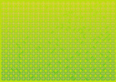 Abstract green circles and triangles background Stock Photo