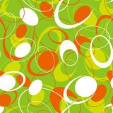 Abstract green circular background Stock Photos