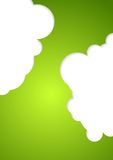 Abstract green corporate design Royalty Free Stock Photo