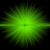 Abstract green cosmic background Stock Images