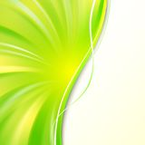 Abstract green cover. Stock Images