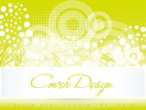 Abstract green cover background Royalty Free Stock Photography