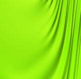 Abstract green creased background Stock Photo