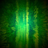 Abstract green cubes background Stock Images