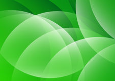Abstract Green Curvy Background Royalty Free Stock Images