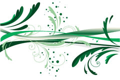 Abstract green design Royalty Free Stock Photos