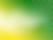Abstract green dot background Stock Photography