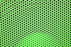 Abstract green dots pattern background Stock Image