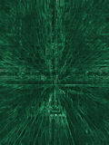 Abstract Green Electric Circuit Future Technology Royalty Free Stock Images