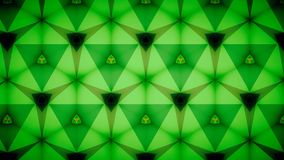 Abstract Green emerald greenery natual mirage bokeh pattern background. Royalty Free Stock Image