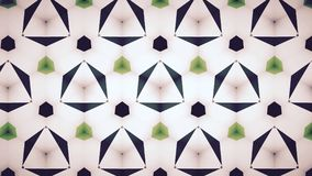 Abstract Green emerald greenery natual mirage bokeh pattern background. Stock Image