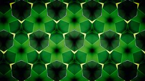 Abstract Green emerald greenery natual mirage bokeh pattern background. Stock Images