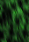 Abstract green fibers Stock Image
