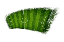 Abstract green field Royalty Free Stock Photos