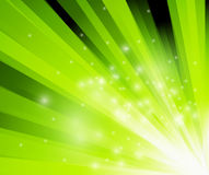 Abstract green flash background Royalty Free Stock Image