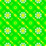 Abstract green floral pattern. Texture background. Royalty Free Stock Image