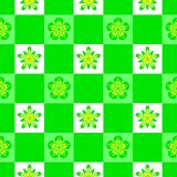 Abstract green floral pattern. Texture background. Stock Image