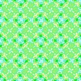 Abstract green floral tiled pattern, Tile texture background, Seamless illustration. Abstract green floral tile pattern, Tiled texture background, Seamless Royalty Free Stock Photo