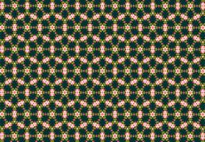 Abstract green flower pattern. Stock Image