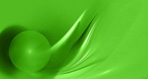 Abstract green fractal image Royalty Free Stock Image
