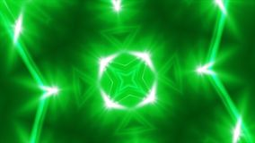 Abstract green fractal lights, 3d rendering backdrop, computer generating. Background stock illustration