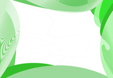 Abstract green frame Stock Photo