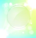 Abstract green frame background Stock Photography