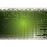 Abstract green futuristic business background Stock Images