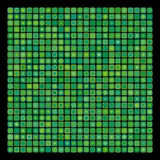 Abstract green geometric background Stock Images