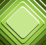 Abstract green geometric background Stock Photography