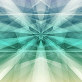 Abstract green geometric background. Vector Illustration. Clip-art Stock Photography