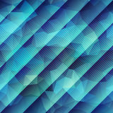 Abstract green geometric pattern with strikes Stock Images