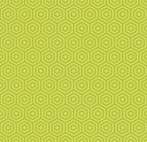 Abstract green Geometric seamless pattern for scatter. Vector.  Royalty Free Stock Photo