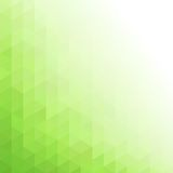 Abstract  green geometric technology background Royalty Free Stock Photos