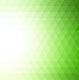 Abstract  green geometric technology background Stock Photography